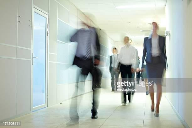 Motion in corridor