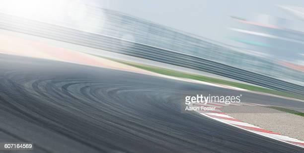 motion race track - pista sportiva foto e immagini stock