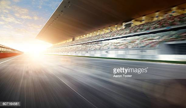 motion race track - auto racing stock pictures, royalty-free photos & images