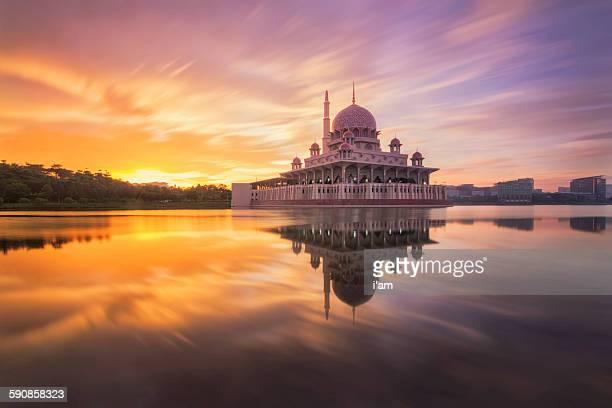Motion sky of Masjid Putra