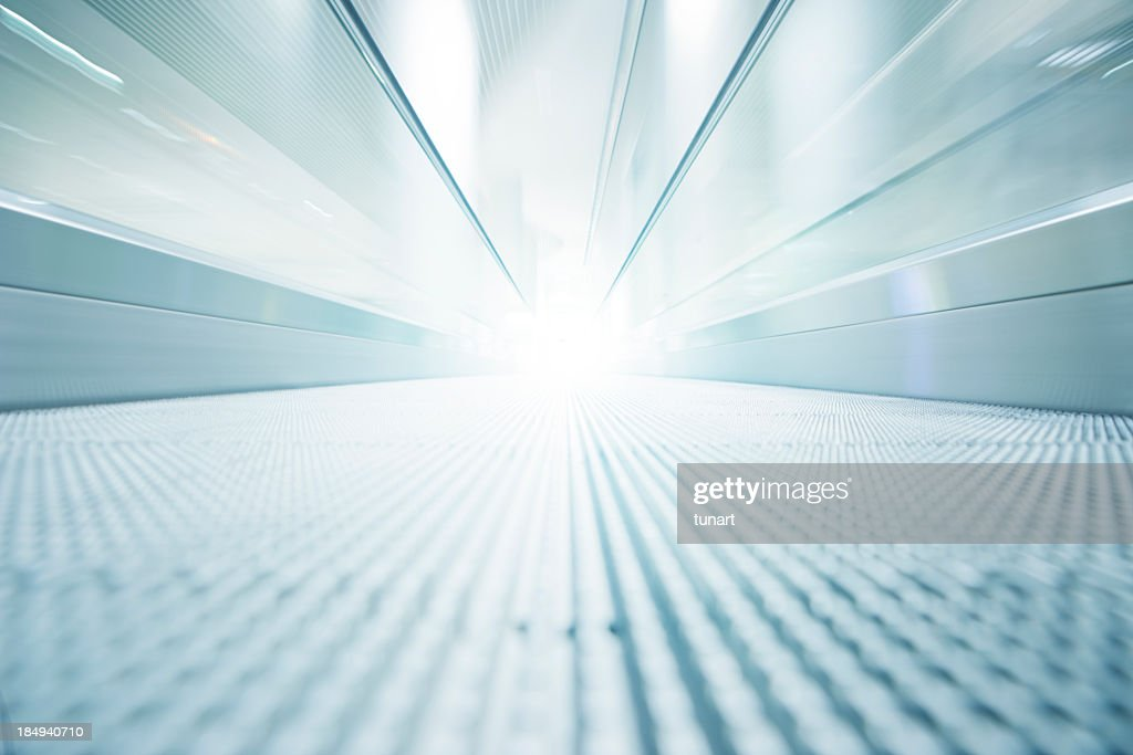 Motion To The Light : Stock Photo