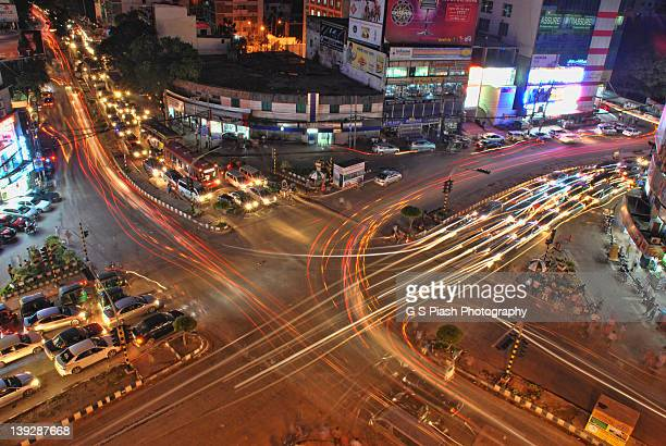 motions in lights - bangladesh stock pictures, royalty-free photos & images