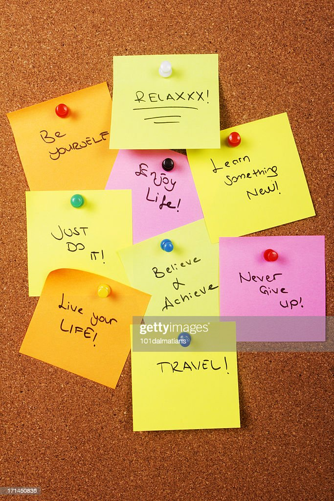 Motivation words for beautiful life : Stock Photo
