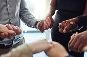 Motivational huddles aren't just for sports teams
