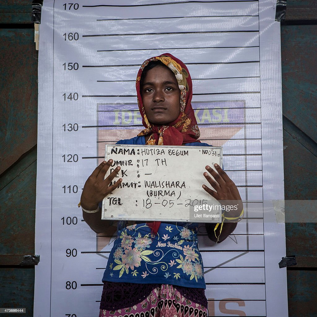 Rohingya Migrants Flee Myanmar To Indonesia : Nachrichtenfoto