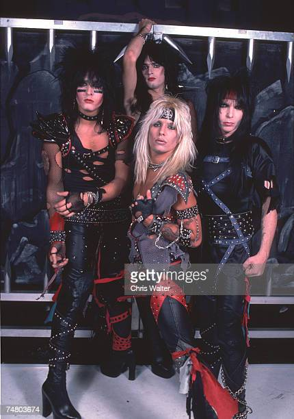 Motley Crue 1983 during Music File Photos 1980's at the Music File Photos 1980's in los angeles