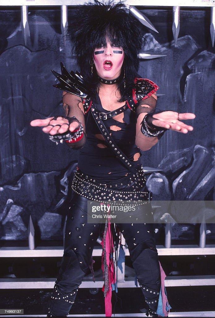 Motley Crue 1983 Nikki Sixx News Photo - Getty Images
