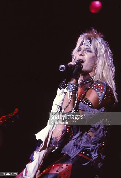 Motley Crue 1983 Vince Neil