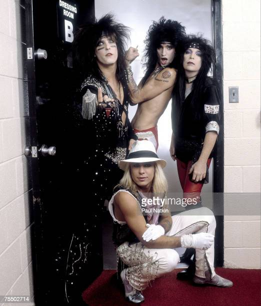 Motley Crue on 3/4/84 in Chicago Il in Various Locations