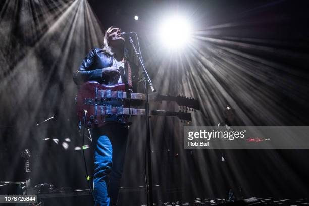 Moto Boy supporting the Cardigans at Eventim Apollo Hammersmith on December 07 2018 in London England