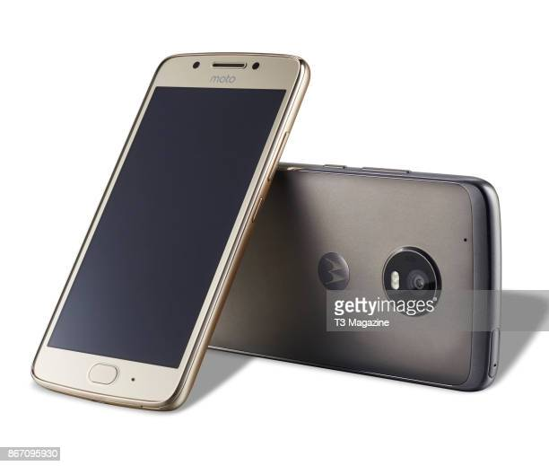 A Moto G5 and Moto G5 Plus smartphone taken on March 24 2017