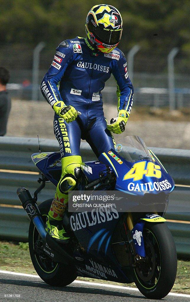Moto Gp World Champion Italian Valentino Pictures Getty Images