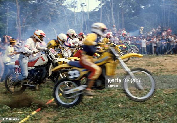motocross race - motorcycle accident stock pictures, royalty-free photos & images