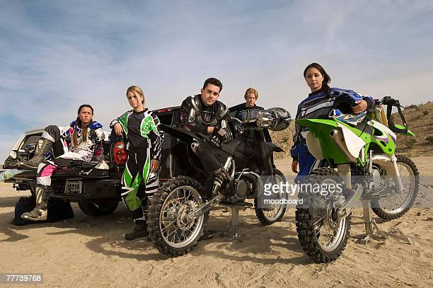 motocross racers - motorcycle racing stock pictures, royalty-free photos & images