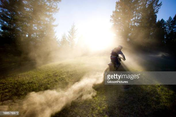 motocross rider man - scrambling stock photos and pictures
