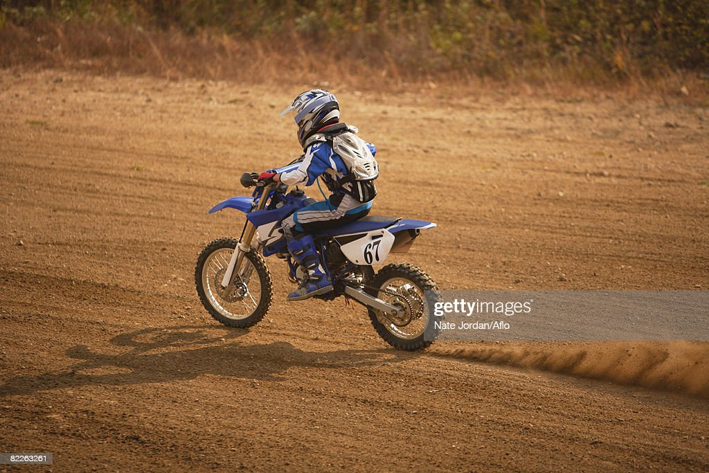 Motocross Rider : Stock Photo