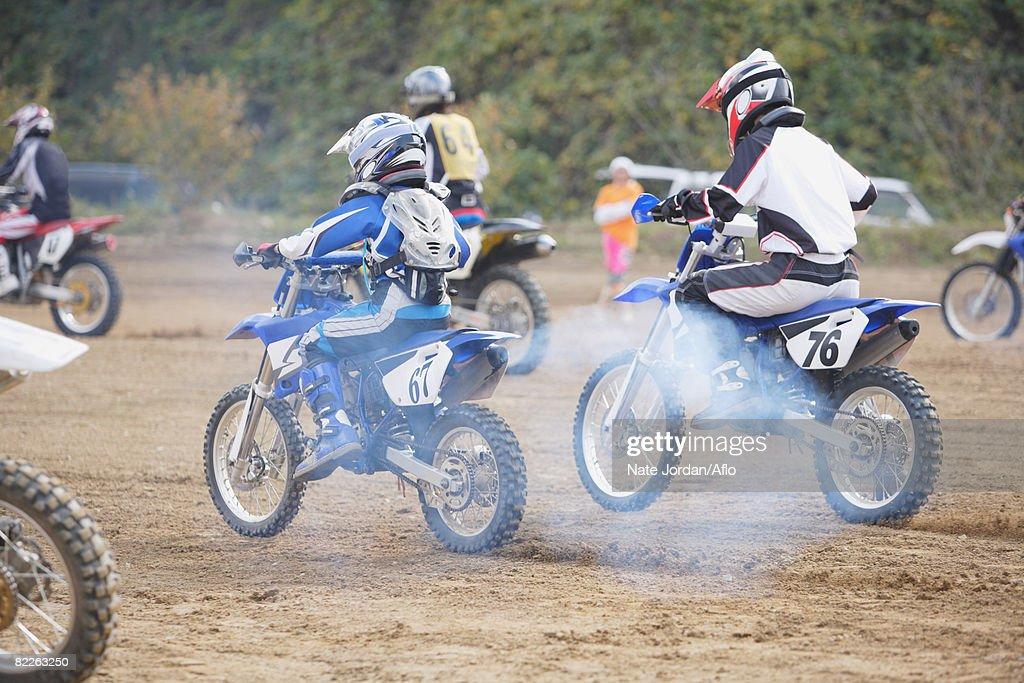 Motocrossing : Stock Photo