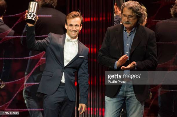 MotoGP Awards Night Johann Zarco receive the roockie of the year