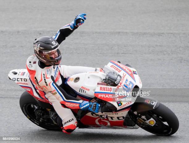 MotoGP Fahrer Scott Redding Grossbritannien Yamaha waehrend des Trainings beim MotoGP auf dem Sachsenring in HohensteinErnstthal Deutschland...