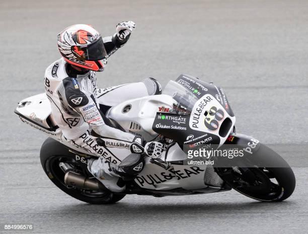 MotoGP Fahrer Yonny Hernandez Kolumbien Ducati waehrend des Trainings beim MotoGP auf dem Sachsenring in HohensteinErnstthal Deutschland Deutschland...
