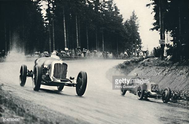 Motor racing on the Nurburg Ring', 1937. From Sir Malcolm Campbell's Book of Famous Motorists, edited by Sir Malcolm Campbell. [Blackie & Son...