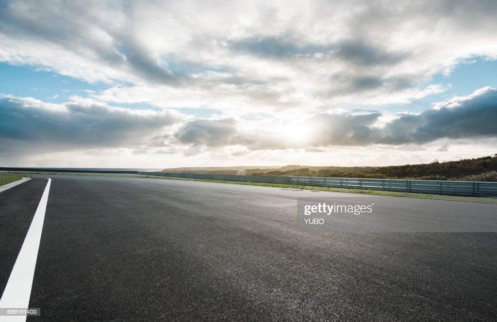 Motor racing track : Stock Photo