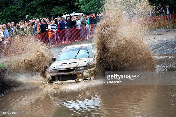 motor rally - rally car racing stock pictures, royalty-free photos & images
