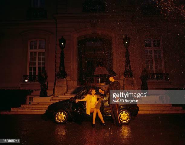Motor Show 1994 En France en septembre 1994 présentation des nouveautés du Salon mondial de l'Automobile 1994 vue des différents modèles de voiture...