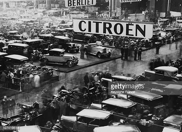 Motor Show In Paris On 1930
