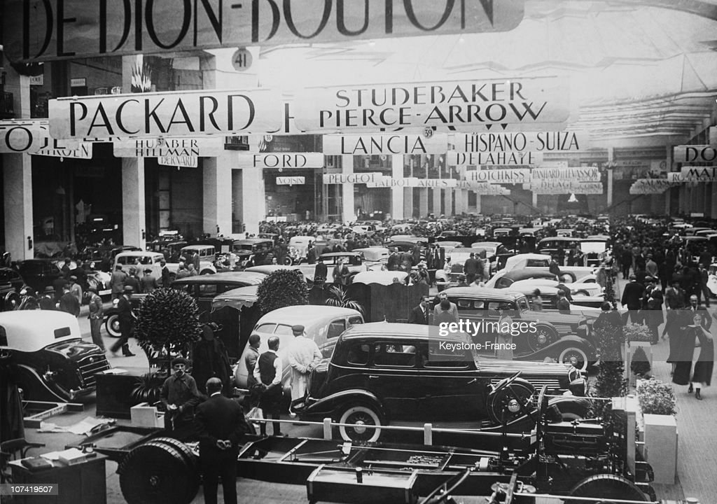 Motor Show In Paris On October 1934 News Photo - Getty Images