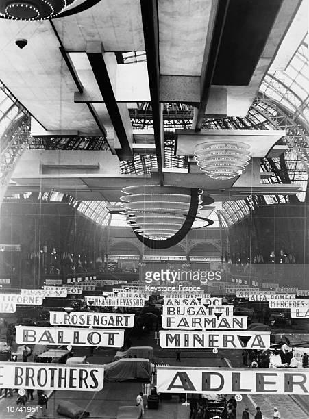 Motor Show In Paris On September 1930