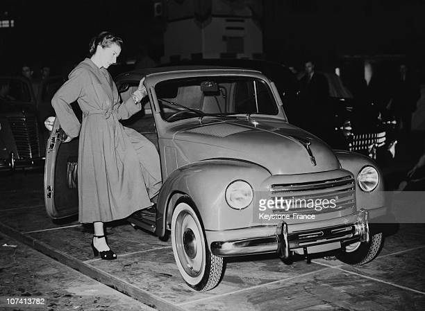 Motor Show Preview Earls Court Exhibition At London In United Kingdom On 1950