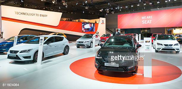 SEAT motor show stand