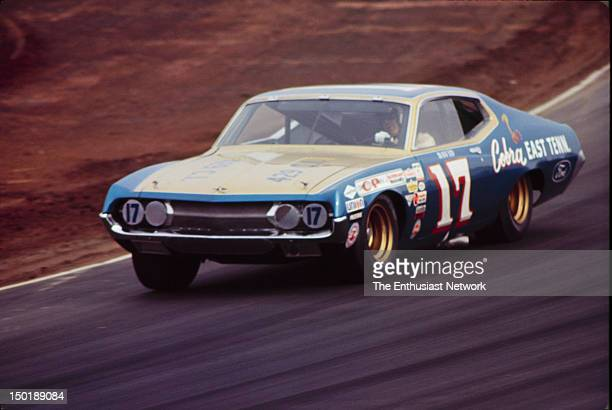 Motor Trend 500 NASCAR Riverside David Pearson driving his Ford Torino