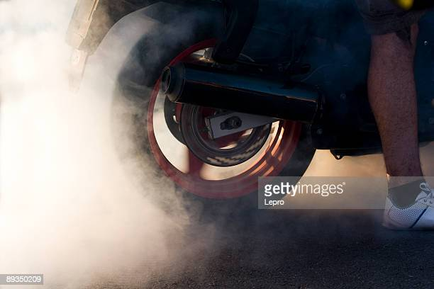 Motorbike Burnout