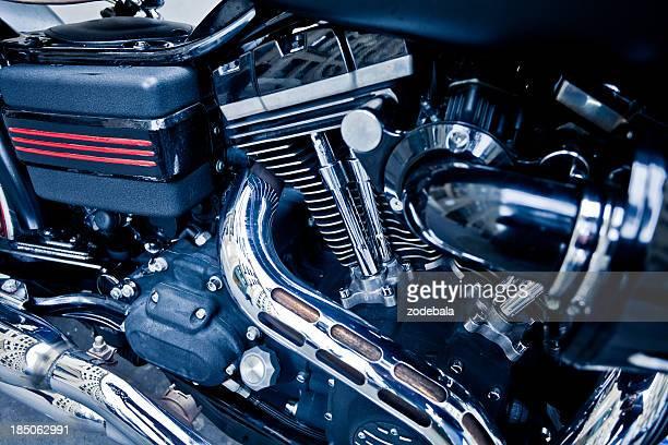 Motorbike Engine Detail