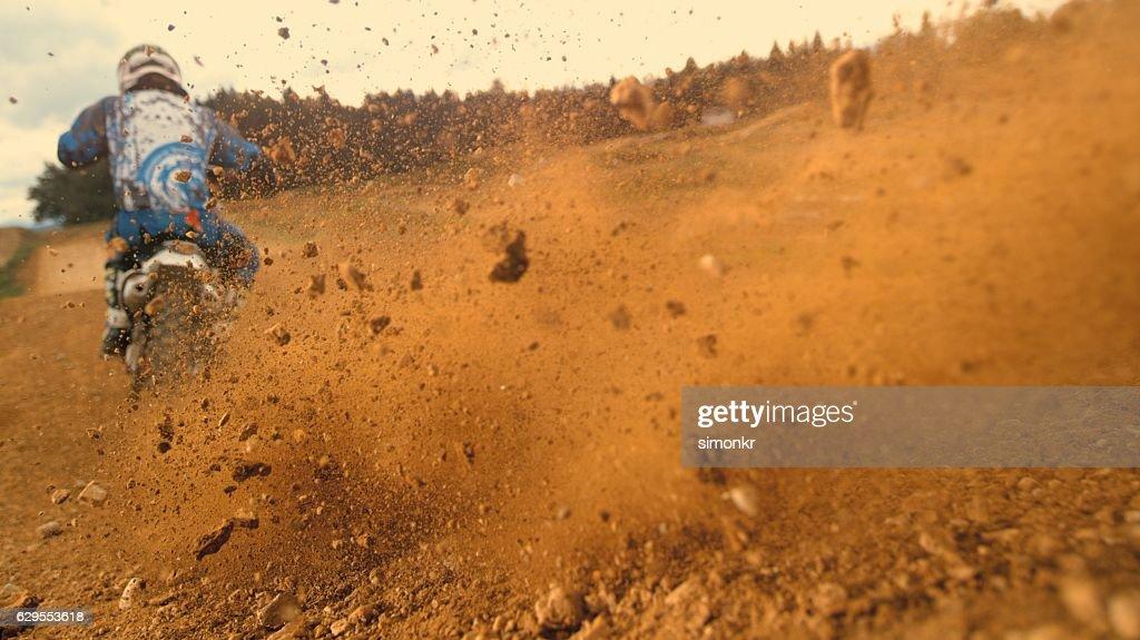 Motorbike riding : Stock Photo