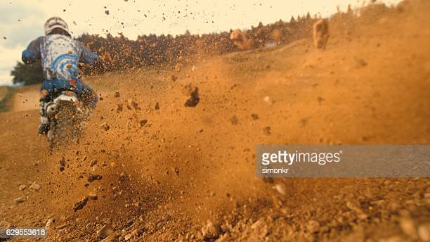motorbike riding - scrambling stock photos and pictures