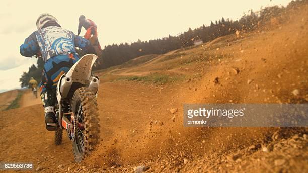 Reiten ein Motorrad