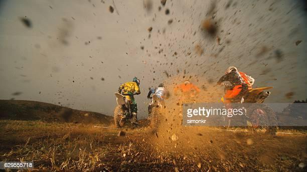 motard de equitação - motocross imagens e fotografias de stock