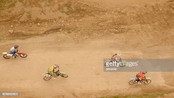 bicicleta de equitação - corrida de motocicleta - fotografias e filmes do acervo