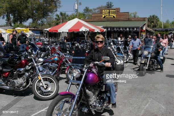 Motorbikes at Bike Week Daytona Beach