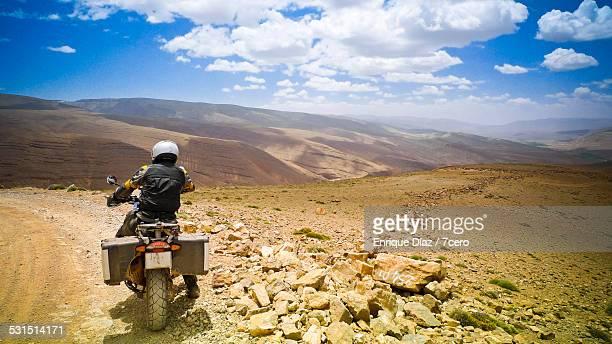 Motorbiking adventure in the Atlas