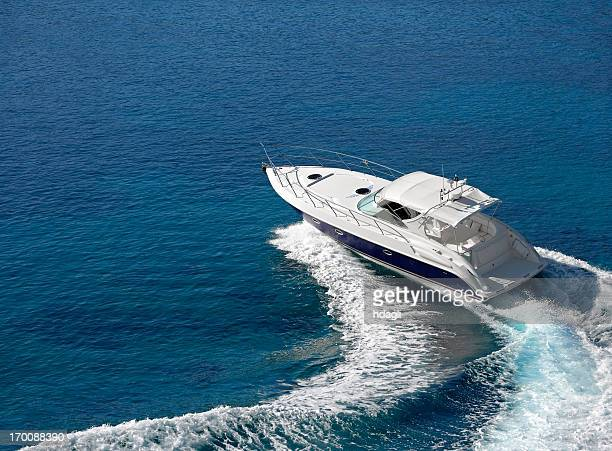 motorboat - nautical vessel stock pictures, royalty-free photos & images