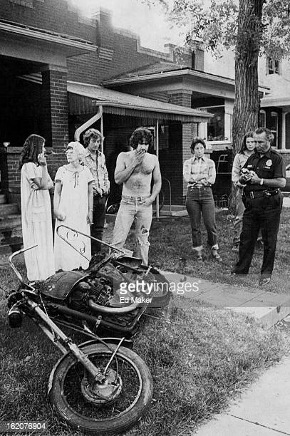 JUN 26 1980 Motorcycle Causes Fire In Building Gasoline leaking from this motorcycle parked in a basement utility room at 1414'/2 S Pearl St was...