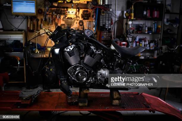 motor de motocicleta - motocicleta - fotografias e filmes do acervo