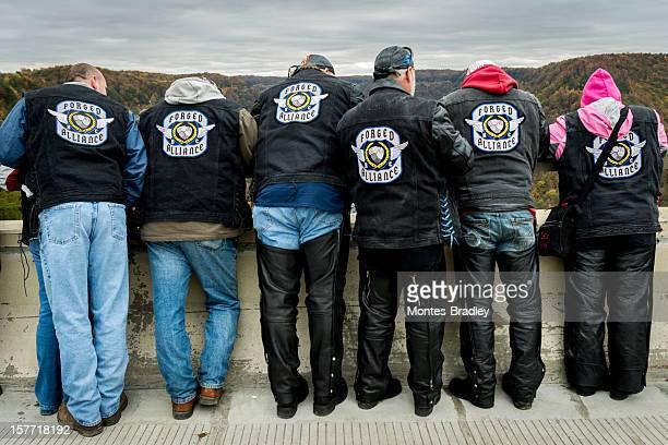 Motorrad-Gang