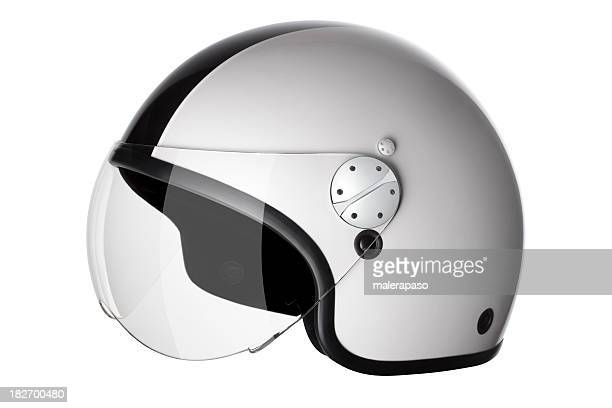 motorcycle helmet - sports helmet stock pictures, royalty-free photos & images
