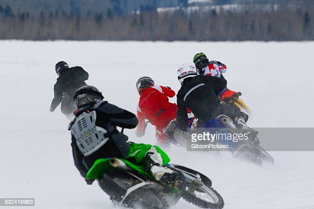 Motorcycle Ice Race