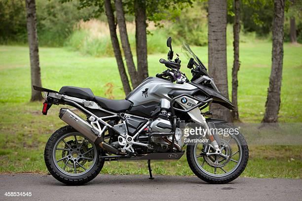 bmw motocicleta - bmw fotografías e imágenes de stock